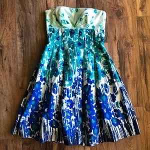 calvin klein strapless sweetheart dress Sz 2 NWT